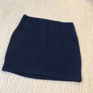 BCBGeneration navy blue textured skirt! 💙
